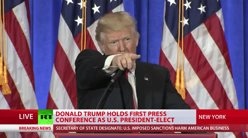Trump CNN fake news