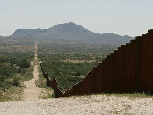 Mr. Trump, rebuild that wall. (Wiki)
