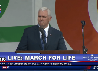 #MarchForLife, Mike Pence, abortion, March for Life, compare and contrast
