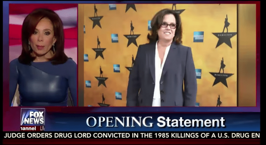 Jeanine Pirro Rosie O'Donnell