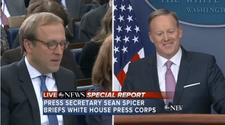 Spicer fake news