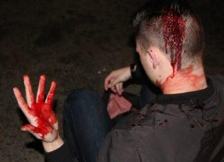 deploraball beaten bloodied liberals