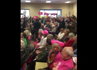 Anti-Trump Protesters Cause Chaos at Constituent Service Day in Georgia