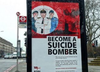suicide bomber poster