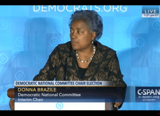 Donna Brazile Voter ID DNC