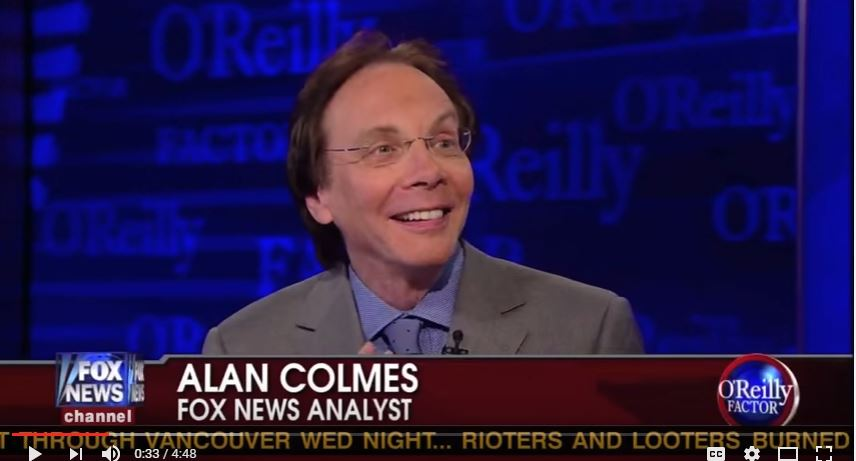 Fox News' Alan Colmes has passed away, the network reported Thursday. (YouTube, Fox News snip)
