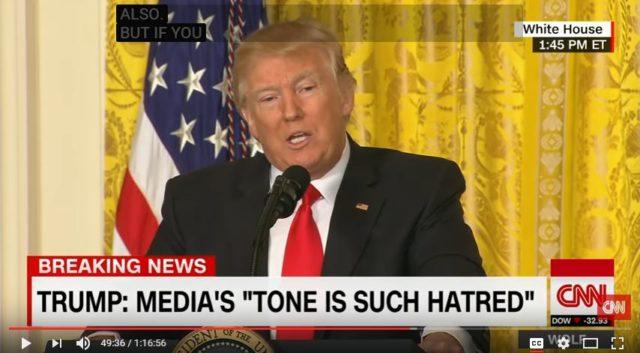 Trump media enemy