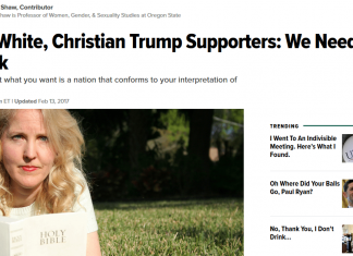 Huffington Post bigotry