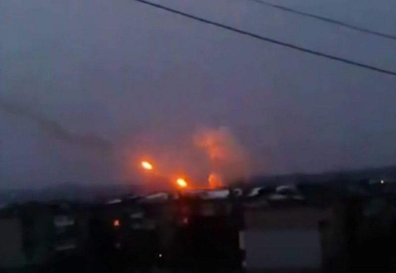 Donetsk under Attack by Ukrainian Government