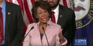 Maxine Waters Putin Korea