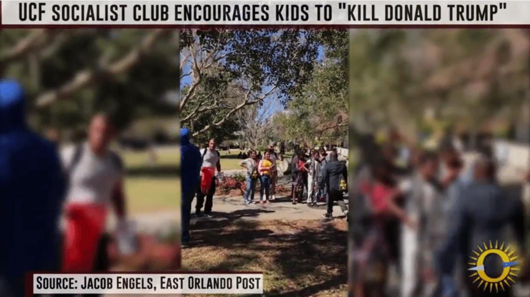 socialist club kill donald trump