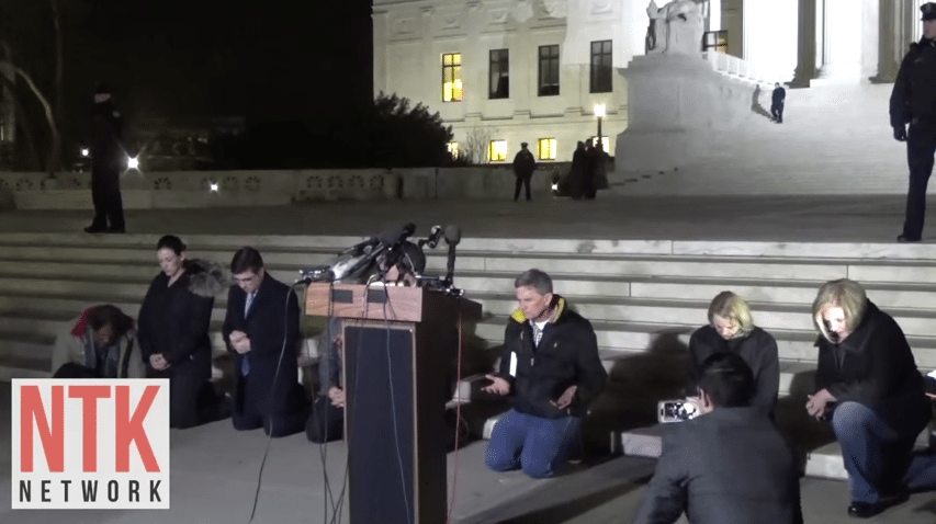 pray, Supreme Court SCOTUS hatemongers