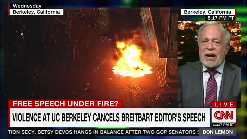 Reich Berkeley riots antifa assets rioters