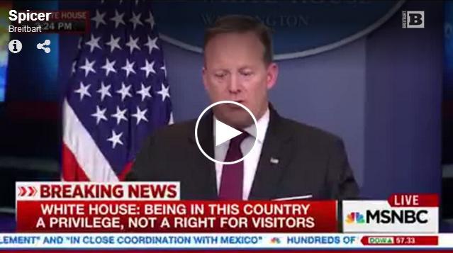 Spicer fake news