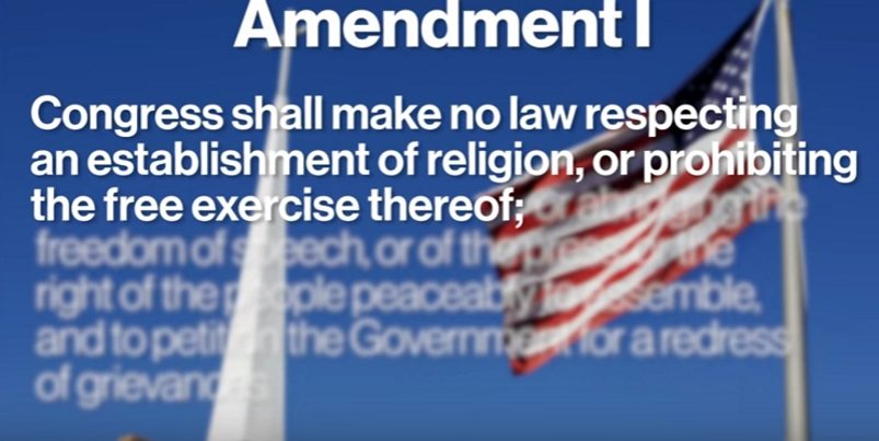 "City Claims 1st Amendment Protects Only the ""Right To Choose A Religion"""