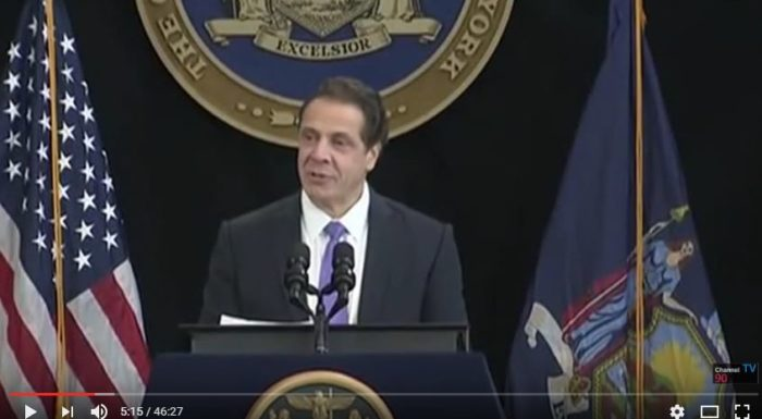 Andrew Cuomo (Screen Capture, YouTube, Channel 90 Seconds)