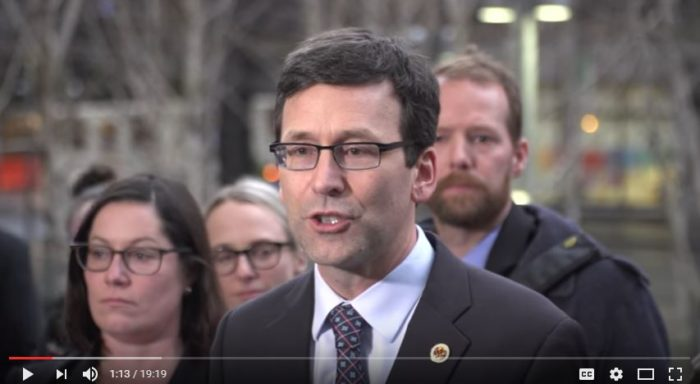Washington Attorney General Bob Ferguson. (Screen capture - YouTube)