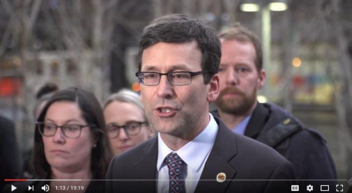 Washington Attorney General Bob Ferguson. (Screen capture - YouTube)