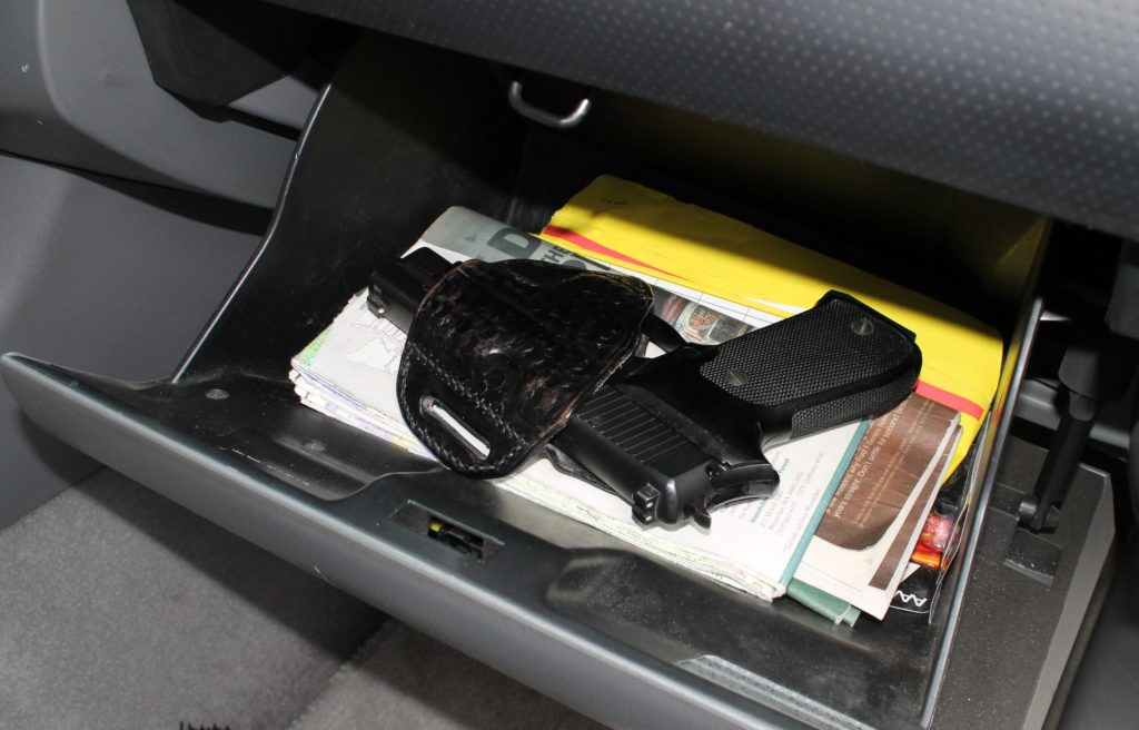 Gun-free zone restrictions force people to leave their firearms in cars, where they are being stolen. (Dave Workman)