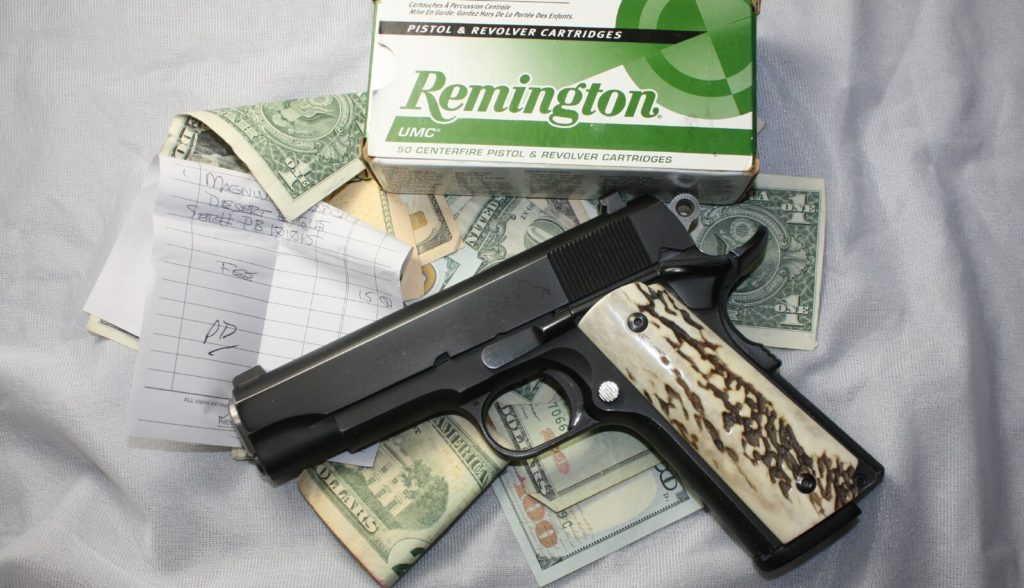 Seattle's gun tax revenue has fallen short, but they won't be specific about how short. (Dave Workman)