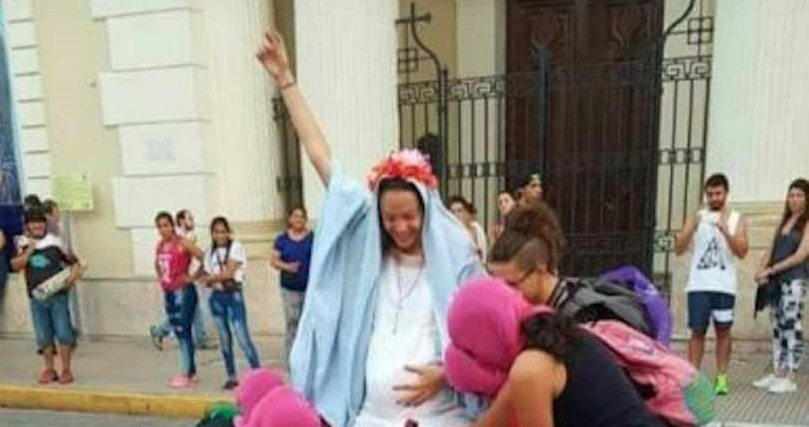 abortion Virgin Mary Women's Day