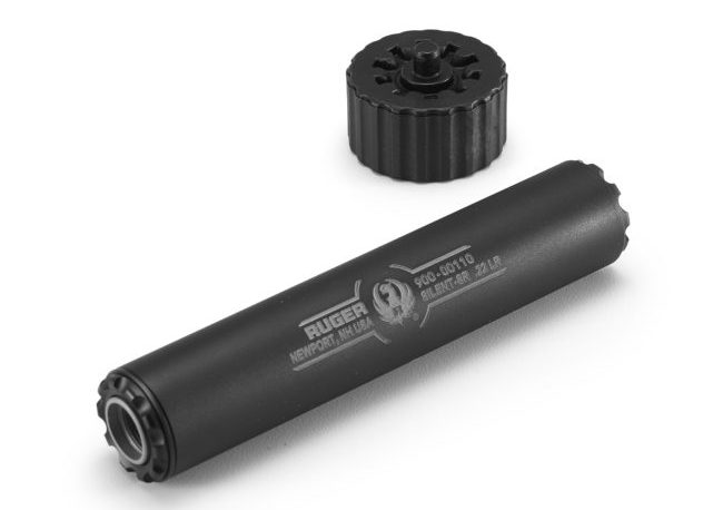 Doctors for Responsible Gun Ownership says legislation to make suppressors, like this model from Ruger, more accessible will help reduce hearing loss among shooters. Ruger photo)