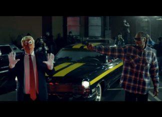 Snoop Dogg shoots Trump
