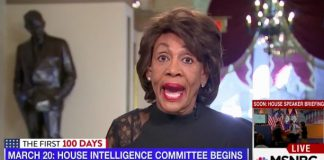 Maxine Waters Trump Russia sex dossier