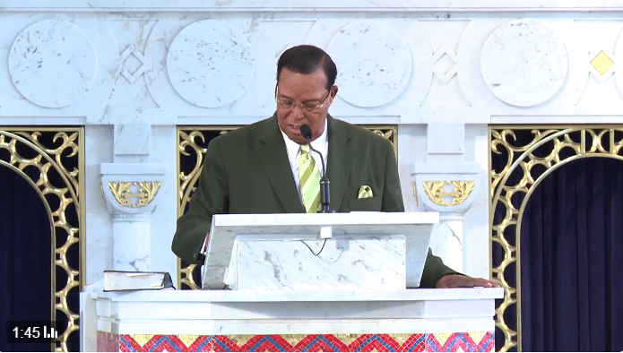 Farrakhan God destroy