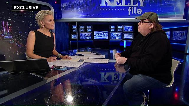 Megyn Kelly tosses softballs to Michael Moore. (Youtube)