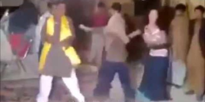 Muslim Asian slapped beat