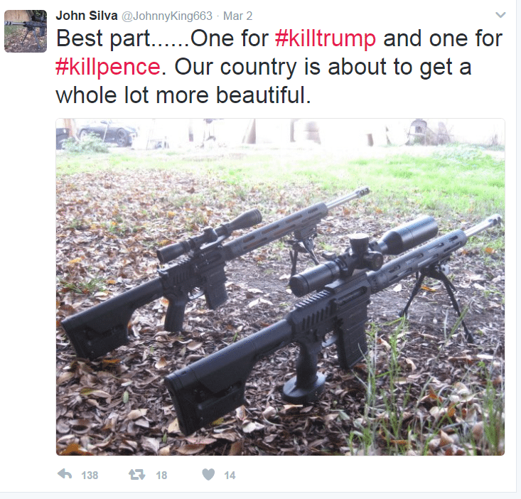 Twitter threat