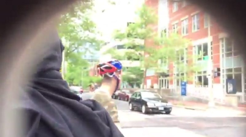 Video: ANTIFA member punches reporter, claims it was in self-defense