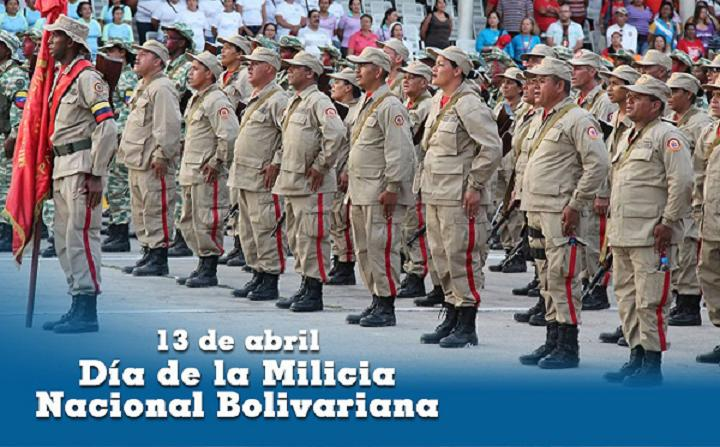 Venezuela militia ready to fight. (Twitter)