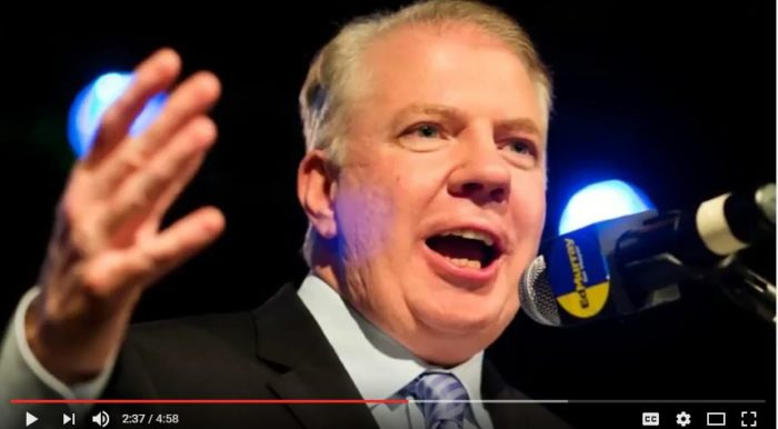 Seattle Mayor Ed Murray is under intense fire. The Seattle Times is urging him to not run for re-election. (Source: YouTube, News Times snip)