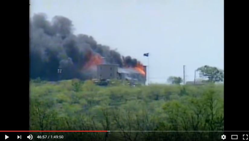 (Source: You Tube Screen capture. Waco-A new Revelation)