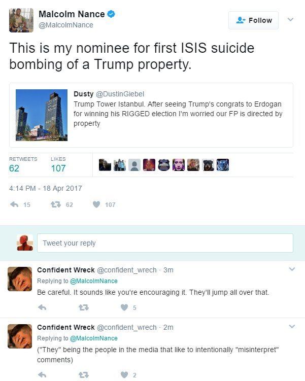 MSNBC Nance tweet Trump