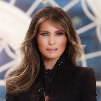 Melania disrespected by national media. (Twitter)