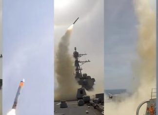U.S. Launches Missile Strikes against Military Targets in Syria