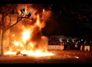 berkeley campus school riots speech