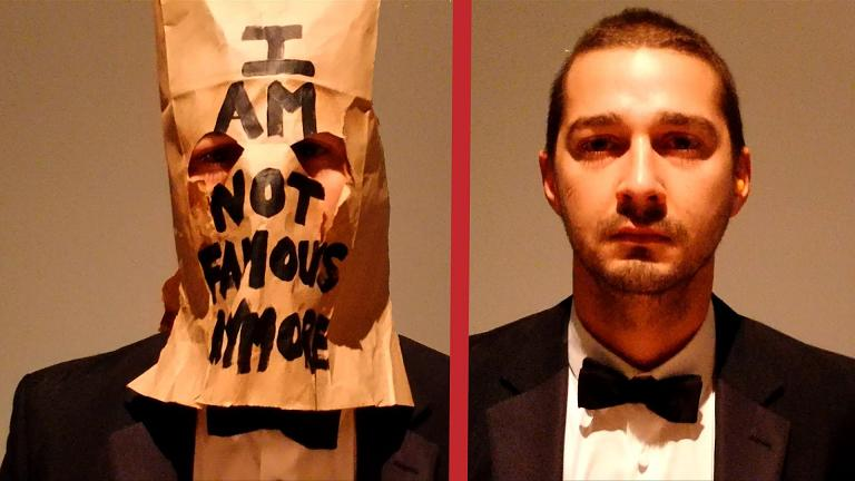 LaBeouf pointing out the obvious. (Wiki)
