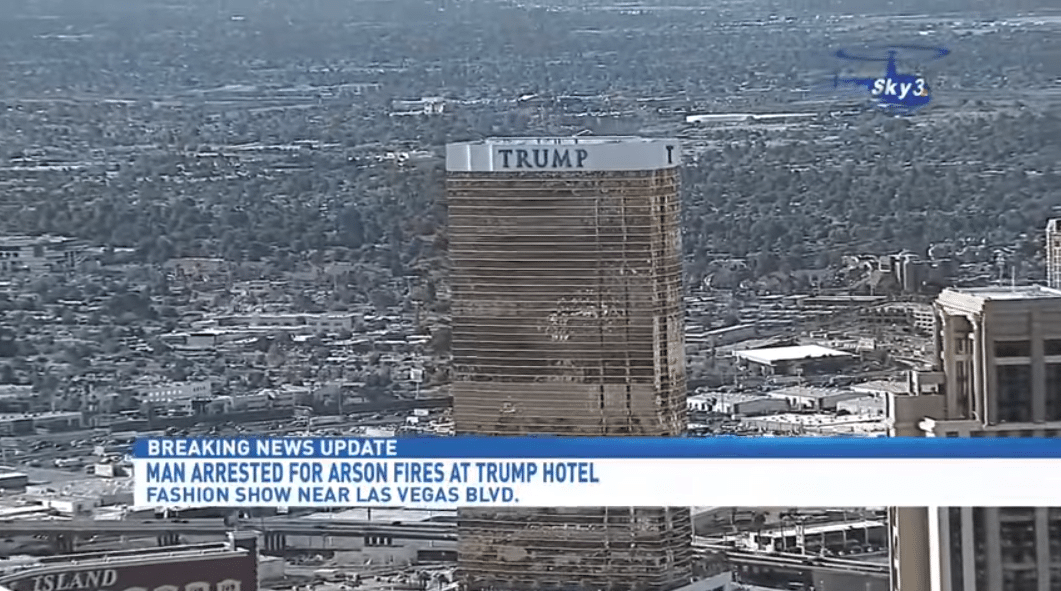 fires Trump International