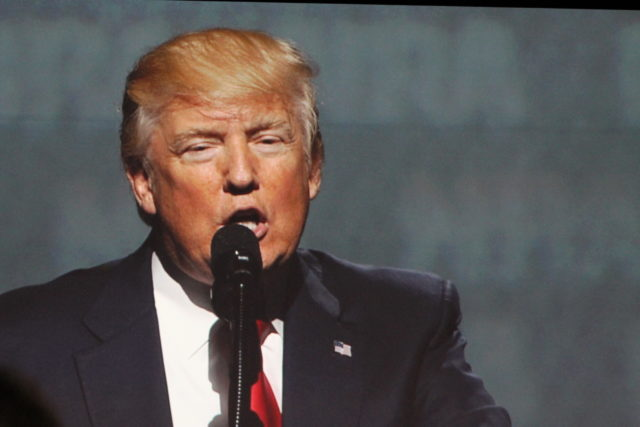 Donald Trump Manchester NRA
