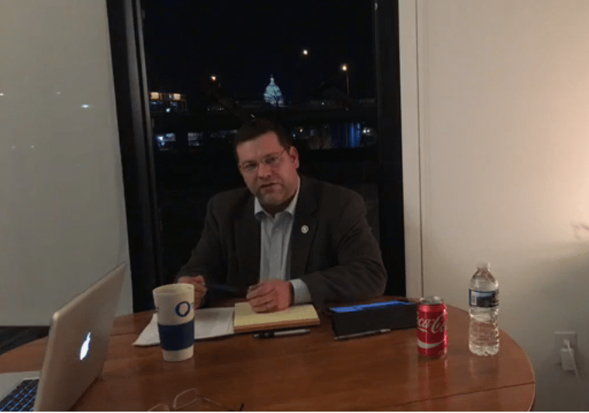 GOP Rep Tom Garrett threatened