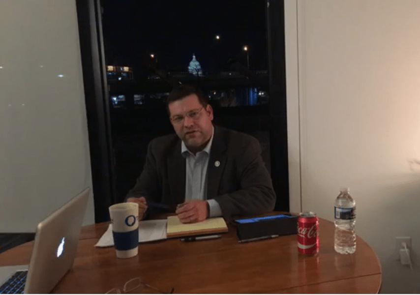 GOP Rep Tom Garrett threatened