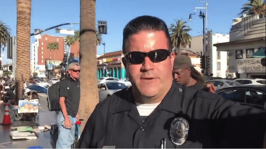 LAPD Antifa assault threat