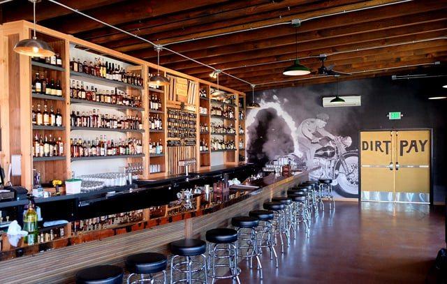 Paydirt, bar, Portland, Steve Bannon, punch, free whiskey
