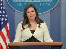 press briefings Sarah Huckabee Sanders