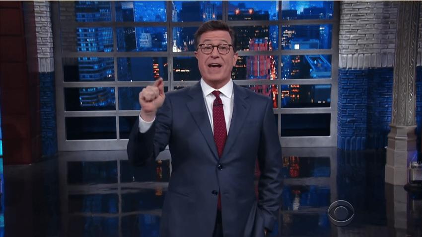 Colbert Trump Putin
