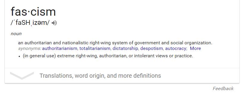 Google fascism